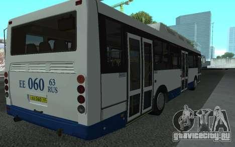 ЛиАЗ 5293.70 для GTA San Andreas вид сзади слева