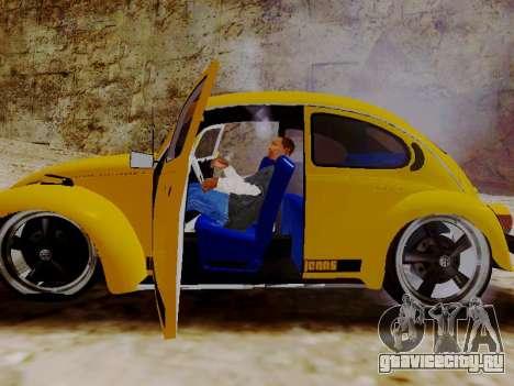 Фольксваген Жук 1975 Джинсы Издание Пользователь для GTA San Andreas