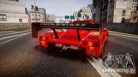 Radical SR8 RX 2011 [16] для GTA 4 вид сзади слева