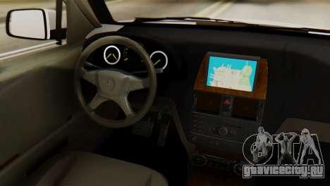 Mercedes-Benz GLK320 2012 для GTA San Andreas вид сзади слева