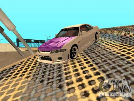 Nissan Skyline R33 Drift Monster Energy JDM для GTA San Andreas двигатель