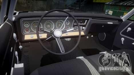 Chevrolet Impala 1967 Custom для GTA 4 вид сбоку