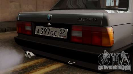 BMW 325i для GTA San Andreas вид сзади