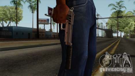 Original HD Silenced Pistol для GTA San Andreas третий скриншот