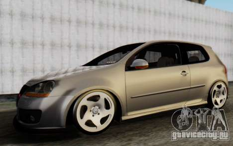 Volkswagen Golf Mk5 для GTA San Andreas