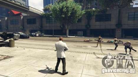 Bodyguard Menu 1.7 для GTA 5 восьмой скриншот