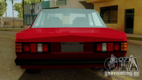 Admiral from Vice City Stories IVF для GTA San Andreas вид сбоку