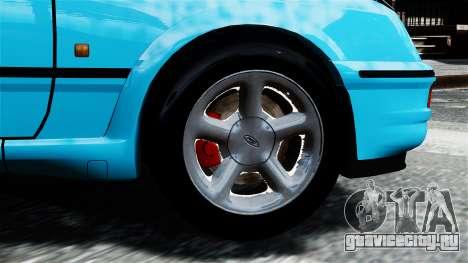 Ford Sierra RS Cosworth v2 для GTA 4 вид сзади слева