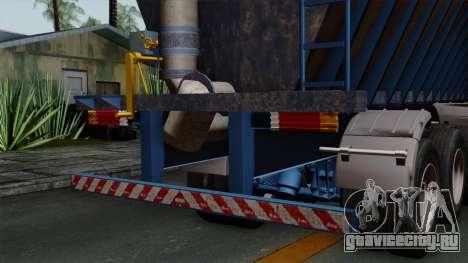 Trailer Silos для GTA San Andreas вид справа