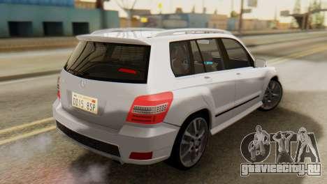 Mercedes-Benz GLK320 2012 для GTA San Andreas вид слева