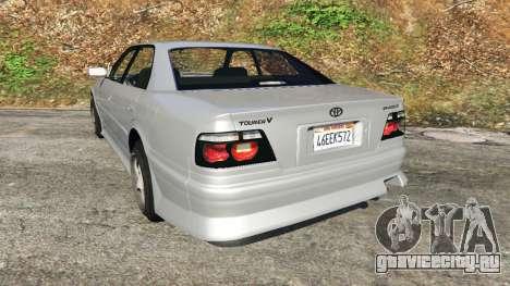Toyota Chaser 1999 v0.3 для GTA 5 вид сзади слева
