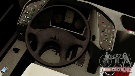 МАЗ 226.065 для GTA San Andreas вид сзади