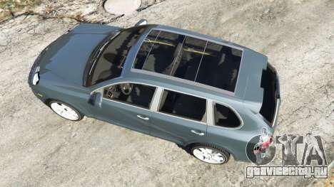 Porsche Cayenne Turbo S 2009 v0.5 [Beta] для GTA 5 вид сзади