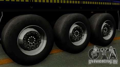 Trailer Krone Profiliner v3 для GTA San Andreas вид сзади слева