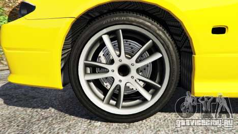 Nissan Silvia S15 v0.1 для GTA 5 вид сзади справа