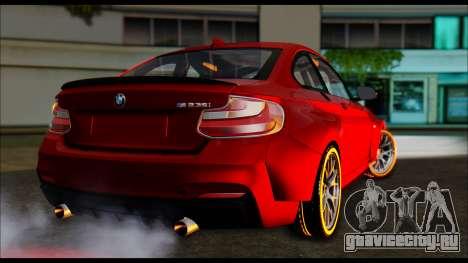 BMW 235i F22 для GTA San Andreas вид слева