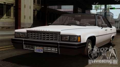 GTA 5 Albany Emperor для GTA San Andreas