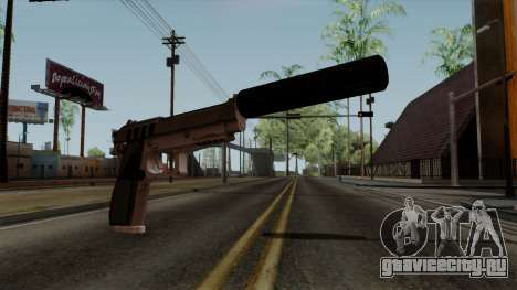 Original HD Silenced Pistol для GTA San Andreas