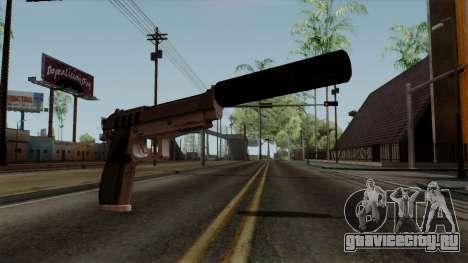 Original HD Silenced Pistol для GTA San Andreas