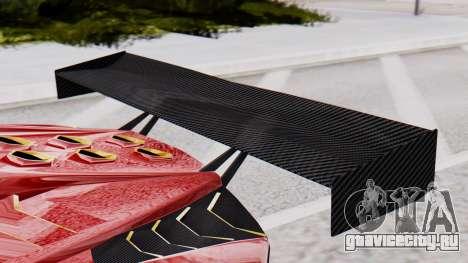 Pegassi Zentorno SM GT3 для GTA San Andreas вид справа