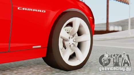 NFS Carbon Chevrolet Camaro для GTA San Andreas вид сзади слева