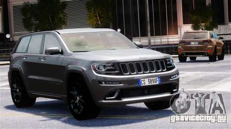 Jeep Grand Cherokee SRT8 2015 для GTA 4