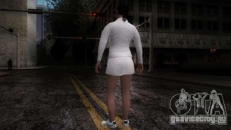 GTA 5 Amanda De Santa Tennis Skin для GTA San Andreas третий скриншот