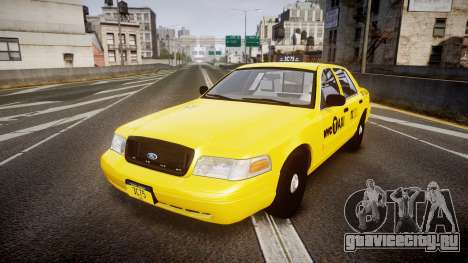 Ford Crown Victoria 2011 NYC Taxi для GTA 4