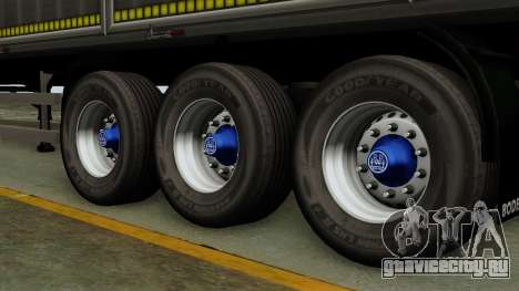 Bodex_TZ для GTA San Andreas вид сзади слева
