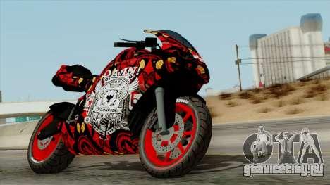 Bati Batik Motorcycle v2 для GTA San Andreas