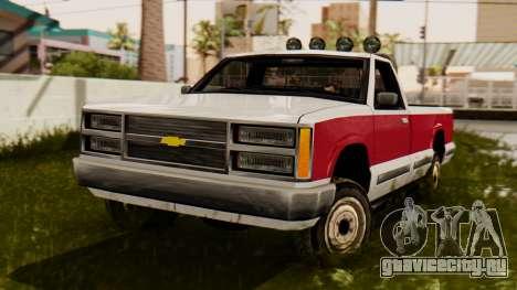 Сhevrolet Silverado SA Style для GTA San Andreas