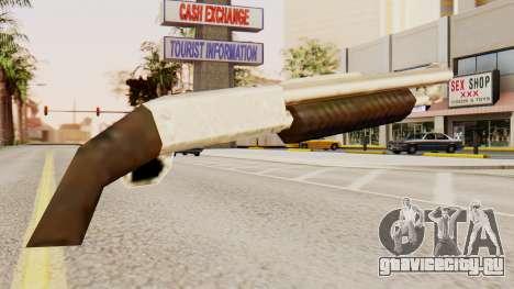 Обрез оригинального помпового ружья для GTA San Andreas второй скриншот