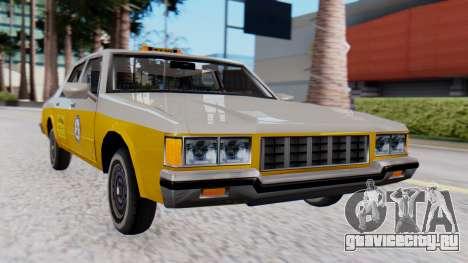 Chevrolet Caprice 1980 SA Style Cab для GTA San Andreas