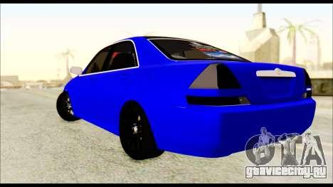 Toyota Mark 2 100 для GTA San Andreas вид слева