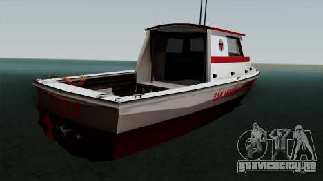 FDSA Reefer для GTA San Andreas вид слева