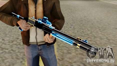 Fulmicotone Chromegun для GTA San Andreas третий скриншот