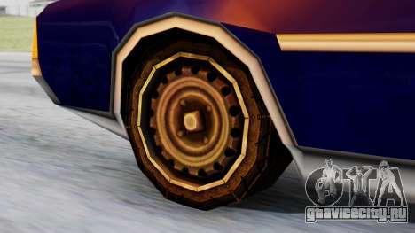 Clover Tuned для GTA San Andreas вид сзади слева