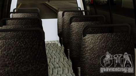 Fly Us Airport Bus для GTA San Andreas вид справа