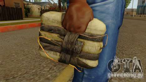 Original HD Satchel для GTA San Andreas третий скриншот