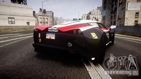 Marussia B2 2012 Jules для GTA 4 вид сзади слева
