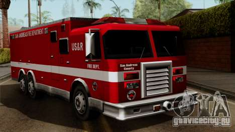 FDSA Urban Search & Rescue Truck для GTA San Andreas