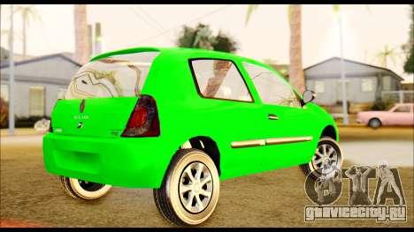 Renault Clio Mio для GTA San Andreas вид слева