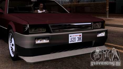 Новые фары для GTA San Andreas третий скриншот