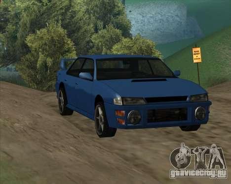 Sultan v1.0 для GTA San Andreas вид слева