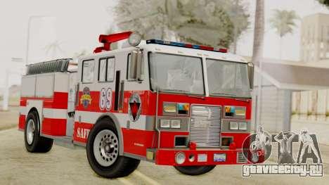 MTL SAFD Firetruck для GTA San Andreas