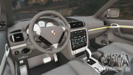 Porsche Cayenne Turbo S 2009 v0.7 [Beta] для GTA 5 вид сзади справа
