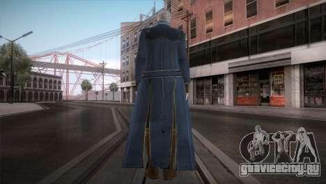 New Vergil from DMC для GTA San Andreas второй скриншот