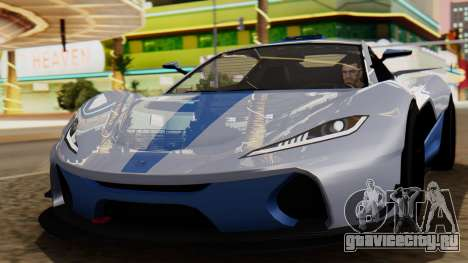 Progen T20 GTR для GTA San Andreas