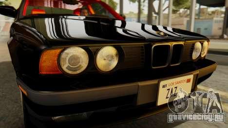 BMW 535i E34 1993 для GTA San Andreas вид справа