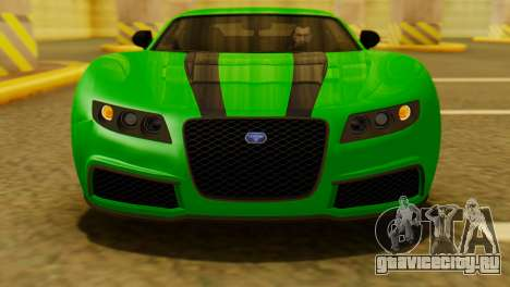 GTA 5 Adder для GTA San Andreas вид справа